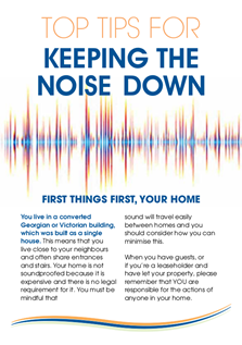 Top Tips for Keeping the Noise Down